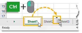 Ctrl-and-Drag-to-Copy-a-Sheet Amazing Excel Tips and Tricks