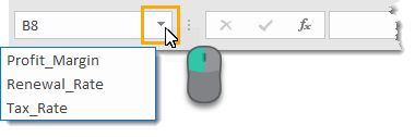 Navigate-to-Named-Ranges Amazing Excel Tips and Tricks