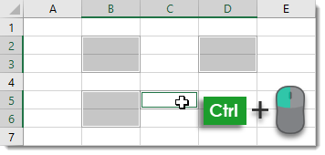 Selecting-and-Deselecting-Non-Continuous-Ranges Amazing Excel Tips and Tricks