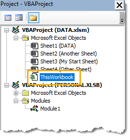 ThisWorkbook-VBA-Module Amazing Excel Tips and Tricks