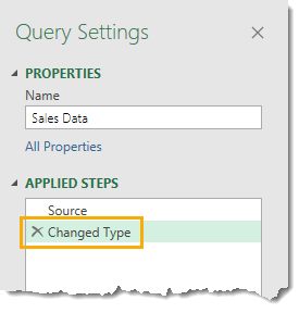 Changed-Type-Step Amazing Power Query Tips and Tricks