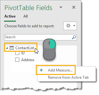 Add-a-New-Measure 5 Ways to Concatenate Data with a Line Break in Excel