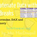 5 Ways to Concatenate Data with a Line Break in Excel