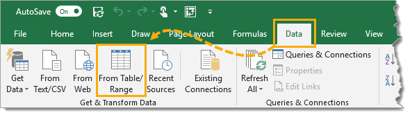 Create-Query-from-Table 5 Ways to Concatenate Data with a Line Break in Excel