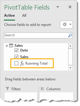 New-Measure-in-the-PivotTable-Fields-Window 7 Ways to Add Running Totals in Excel