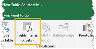 Adding-Calculated-Fields-and-Items The Ultimate Guide to Data Analysis with Pivot Tables