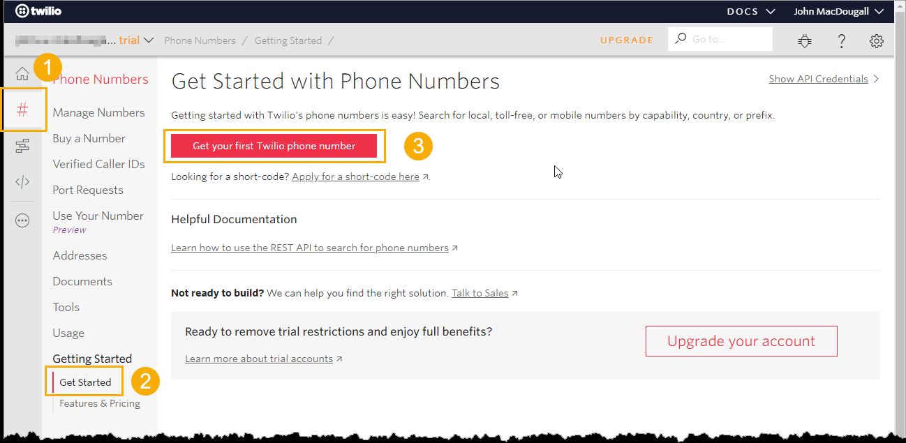 Get-Started-with-Phone-Numbers Sending SMS Text Messages From Excel