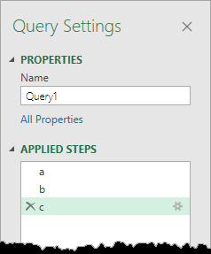 Applied-Steps Introduction To Power Query M Code