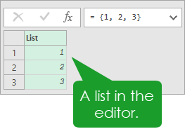 Editor-List Introduction To Power Query M Code