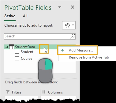 Add-Measure Summarizing Text Data With Pivot Tables