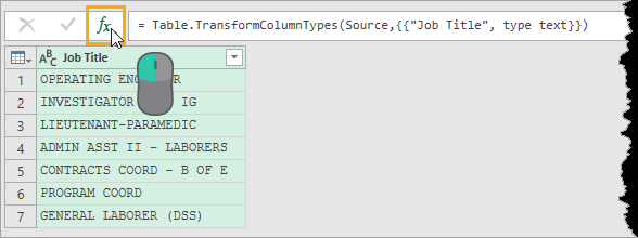 Add-New-Query-Step Bulk Find And Replace In Power Query