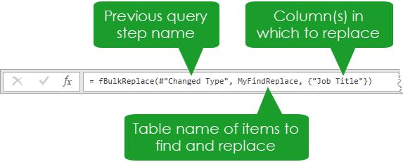 Enter-Query-Function Bulk Find And Replace In Power Query