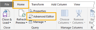 Open-Advanced-Editor Replicate Excel's TRIM Function In Power Query
