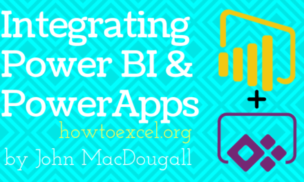 Integrating Power BI And PowerApps