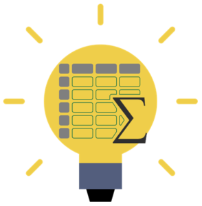 Lightbulb-Spreadsheet-Logo-Icon-294x300 Lightbulb Spreadsheet Logo Icon