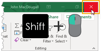 Shift-Left-Click-to-Close-All-Workbooks 37 Awesome Excel Mouse Tips & Tricks You Should Know