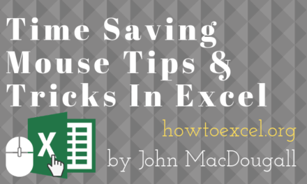37 Awesome Excel Mouse Tips & Tricks You Should Know