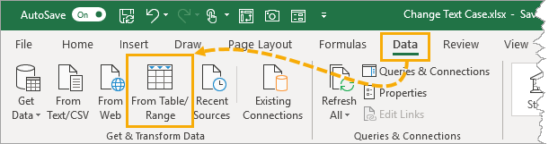 Create-Table-Query 5 Ways To Change Text Case In Excel