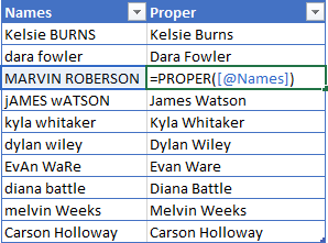 PROPER-Excel-Function-Example 5 Ways To Change Text Case In Excel