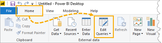 Power-BI-Edit-Query Copy And Paste Data From Excel Into Power BI