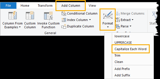 Power-Query-Format-Text-Proper-Case 5 Ways To Change Text Case In Excel