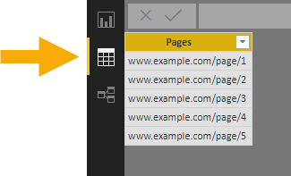 Table-In-Data-View Copy And Paste Data From Excel Into Power BI