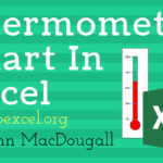 Create A Thermometer Visual To Display Actual Versus Target