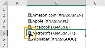 Click-Data-Type-Icon The Complete Guide to Rich Data Types in Excel