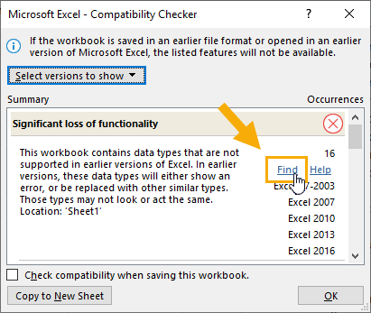 Excel-Compatibility-Checker The Complete Guide to Rich Data Types in Excel