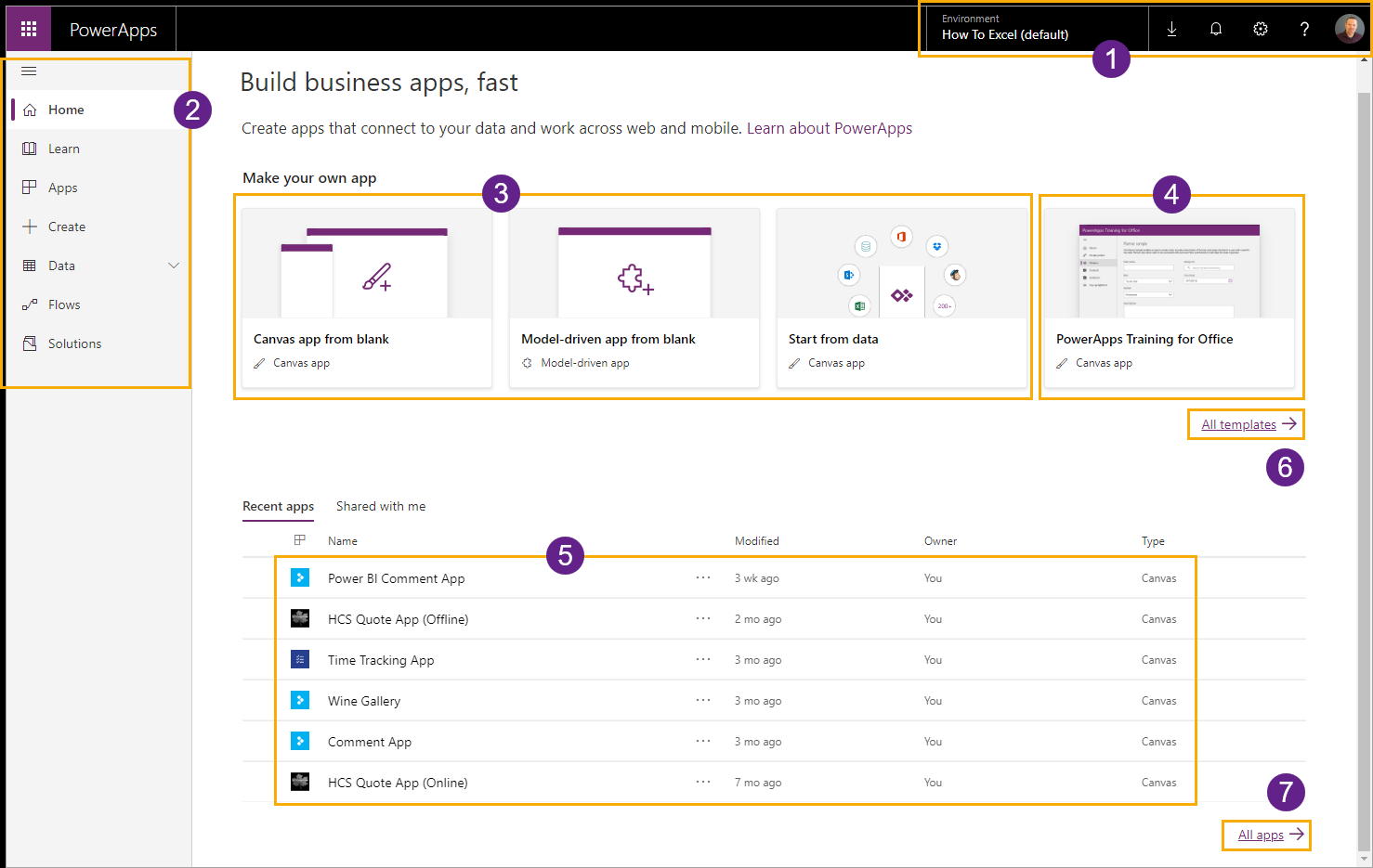 PowerApps-Home The Complete Guide To Microsoft PowerApps
