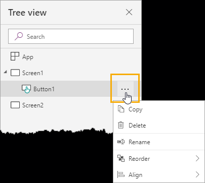 Tree-View-Options The Complete Guide To Microsoft PowerApps
