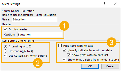 Slicer-Settings The Complete Guide To Slicers And Timelines In Microsoft Excel