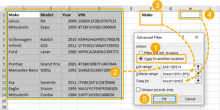 Advanced-Filter-Menu-Options 9 Ways to Delete Blank Rows in Excel