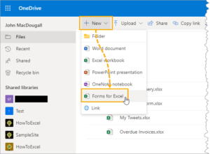 Create-Form-for-Excel-in-OneDrive-300x221 Create Form for Excel in OneDrive