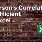 3 Ways to Calculate a Pearson's Correlation Coefficient in Excel
