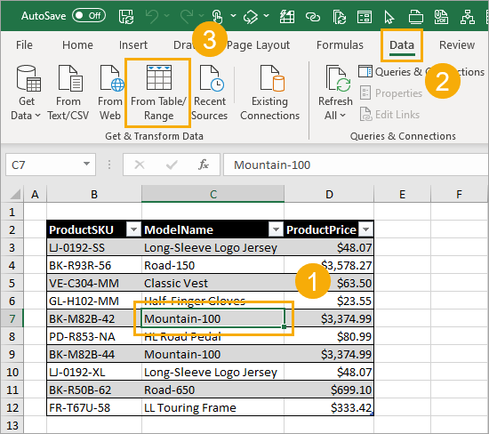 Create-Table-Range-Query 7 Ways to Extract the First or Last N Characters in Excel