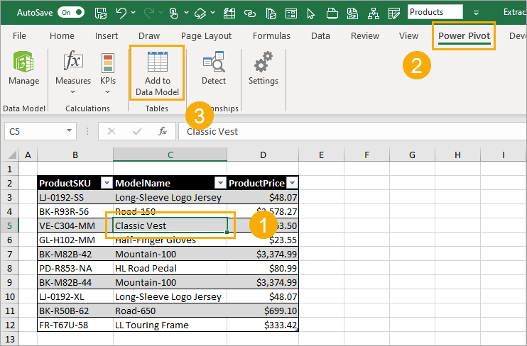 Add-to-Data-Model 7 Ways to Extract the First or Last N Characters in Excel
