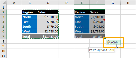 Paste-Options 9 Ways to Copy and Paste as Values in Excel