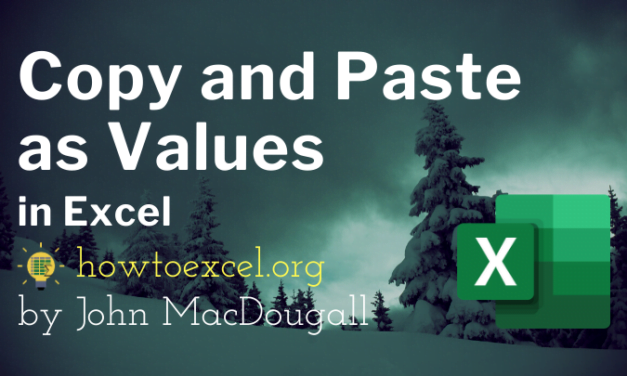9 Ways to Copy and Paste as Values in Excel